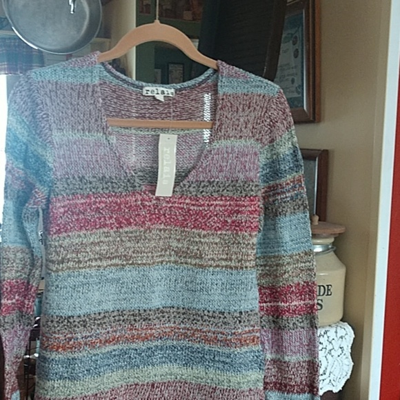 Relais Knitware Sweaters - Gorgeous striped sweater